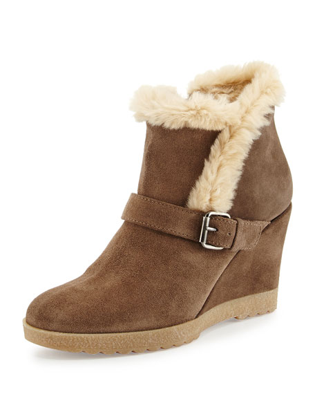 Aquatalia Suede Wedge Ankle Boots clearance with credit card discount footaction choice sale online AnTXPr
