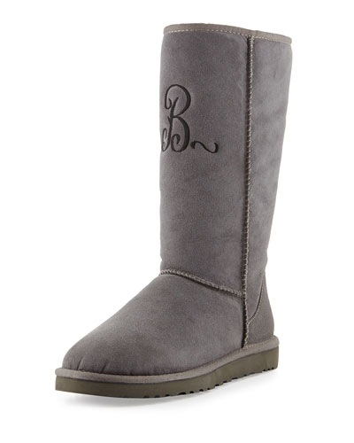 Classic Tall Boot, Gray