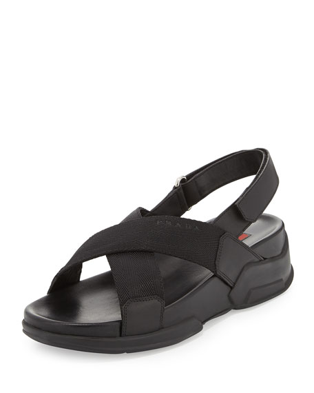 criss cross sandals - Black Prada UhJQPg6P8X