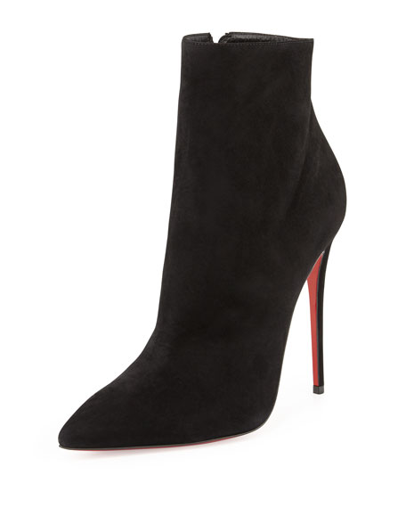210c5693b4f So Kate Suede Red Sole Bootie Black