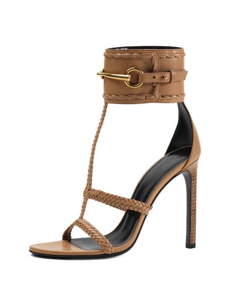 2261dbc09d14 Gucci Ursula Ankle-Strap Sandal