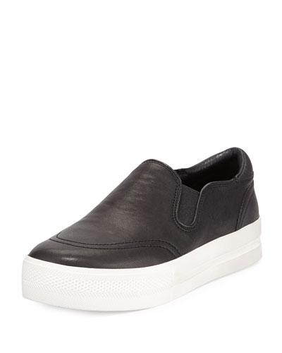Jungle Platform Skate Sneaker, Black