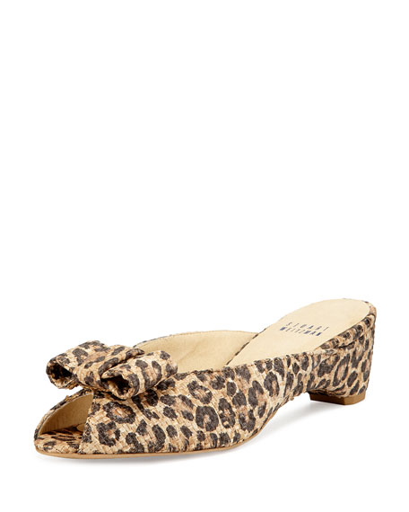Stuart Weitzman Printed Slide Sandals collections cheap online outlet online free shipping real KQH5OP
