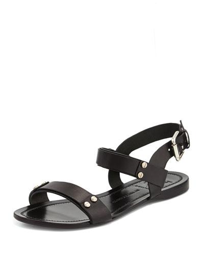 Magnoliah Flat Studded Sandal