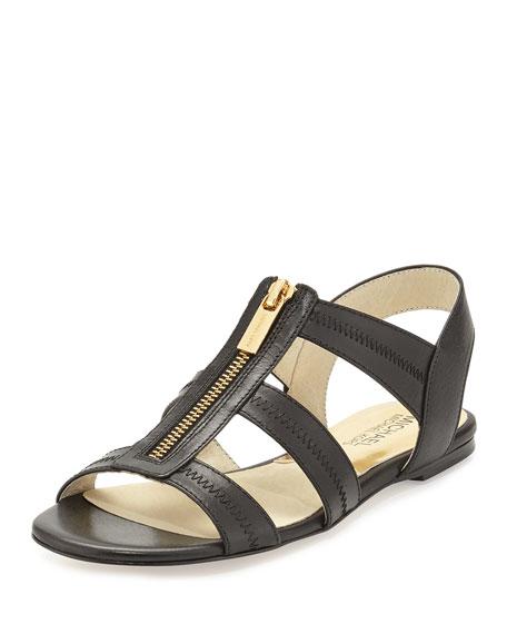 42693f0dcf81 MICHAEL Michael Kors Berkley T-Strap Flat Sandal