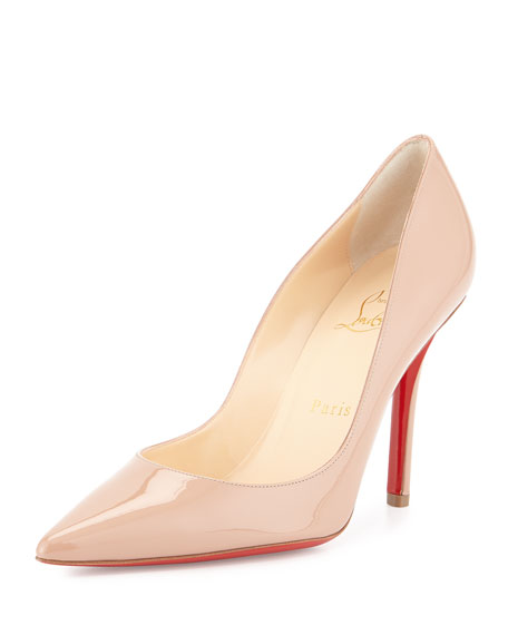 68842db812d7 Christian Louboutin Apostrophy Patent Red Sole Pump