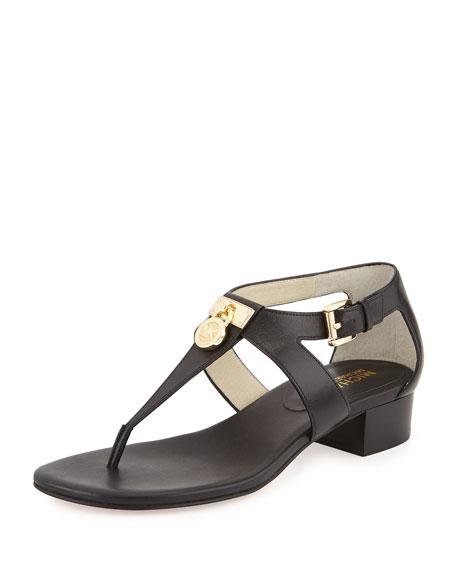 18f6765fd363 MICHAEL Michael Kors Hamilton Leather Thong Sandal