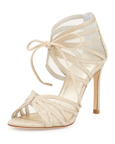 Stuart Weitzman Openleaf Mesh Sandals outlet under $60 largest supplier for sale purchase cheap price nPdfGmUR9N