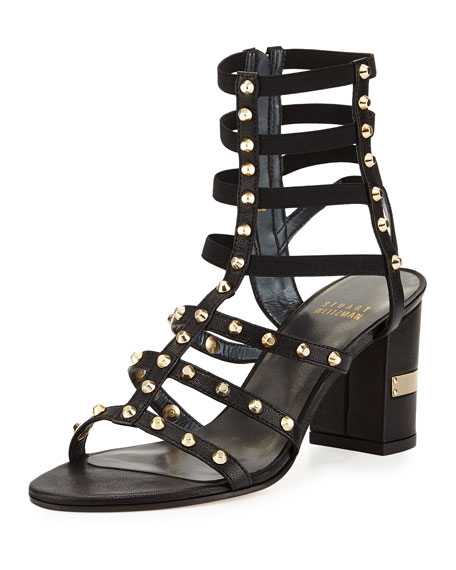 free shipping 2014 new outlet top quality Stuart Weitzman Suede Caged Sandals MlQnBhP