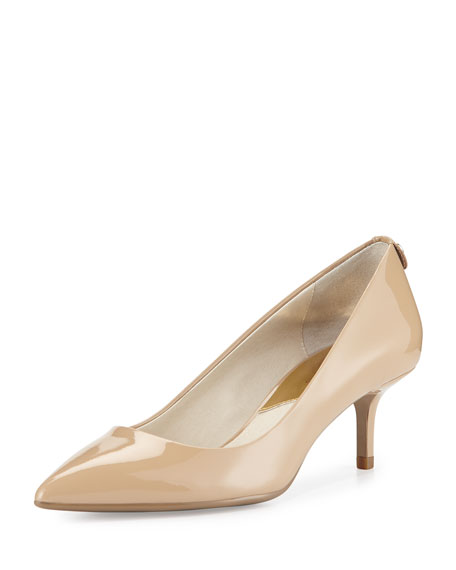 Michael Michael Kors Mk Flex Kitten Pump Beige mM683WiE