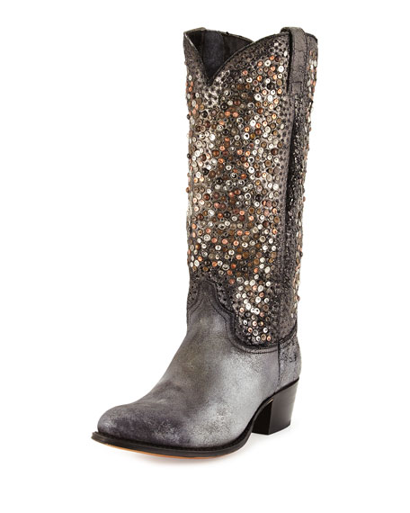 96ccdc6700c3 Frye Deborah Studded Leather Tall Boot