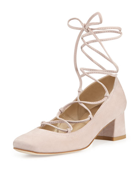 Stuart Weitzman Cordon Lace-Up Pumps free shipping cost for nice cheap price outlet authentic under $60 online looking for cheap online 415uwMO