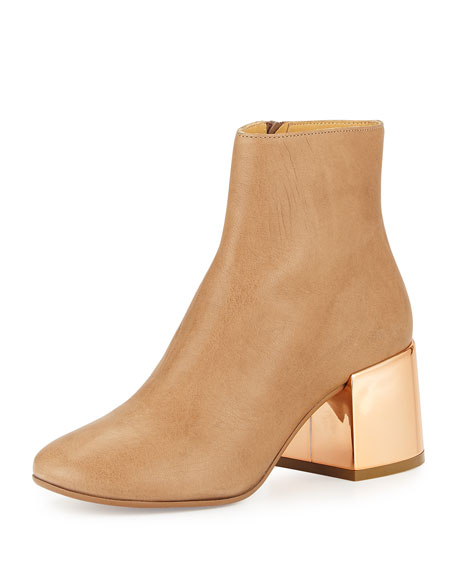 Leather Ankle Boots Maison Martin Margiela cm2NLYf