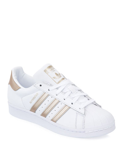 Superstar Lace-Up 3-Stripes&#174 Sneaker