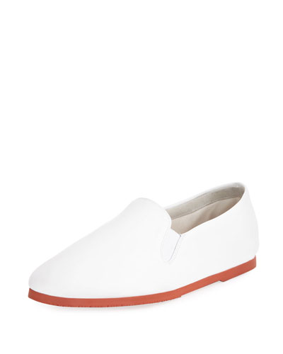 Grace Leather Slip-On Sneaker