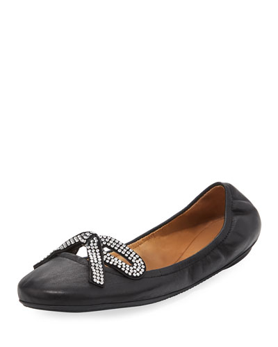 Willa Strass Bow Ballerina Flat