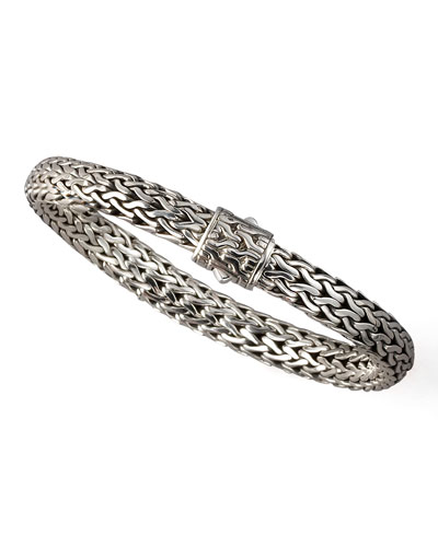 Medium Chain Bracelet with Chain Clasp