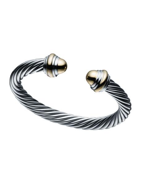 7mm Cable Clics Bracelet Size Large