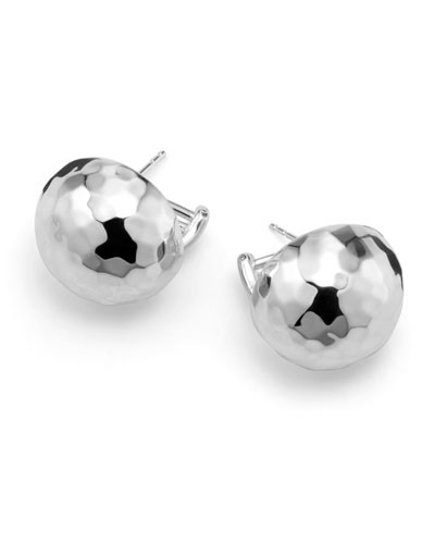 Sterling Silver Pinball Post Earrings