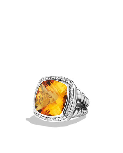 Albion Ring, Citrine, 17mm
