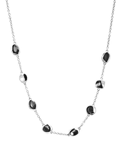 Glamazon Silver Bead Necklace