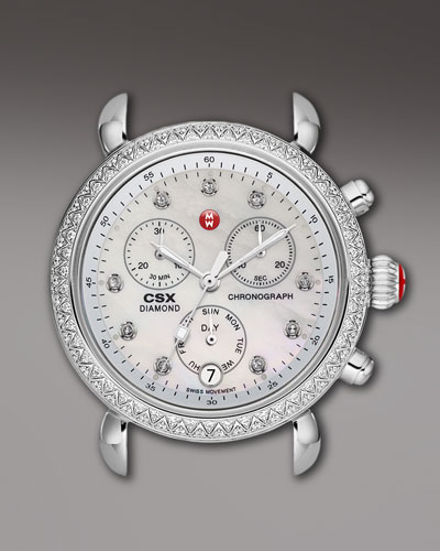 CSX 36 Diamond-Bezel Watch Head