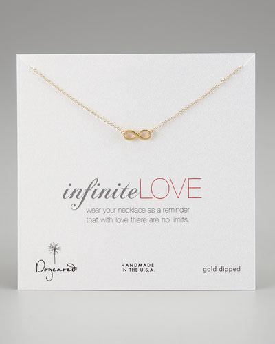 Infinite Love Pendant Infinity Necklace