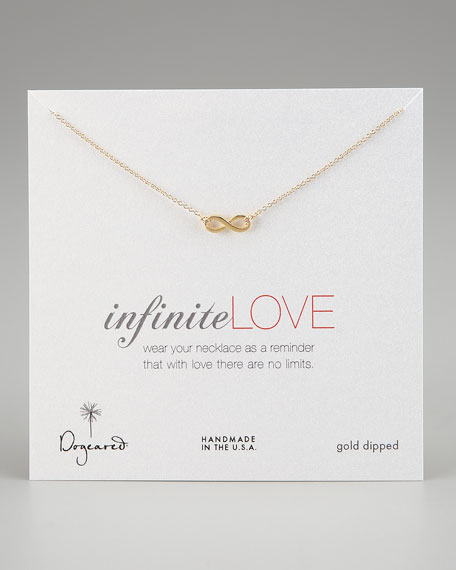 Infinite Love Pendant Infinity Necklace