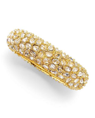 Crystal-Encrusted Bracelet