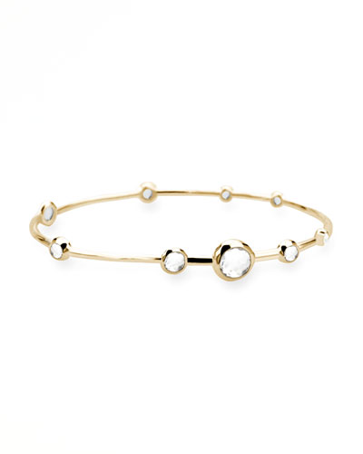 Rock Candy Gold Bangle