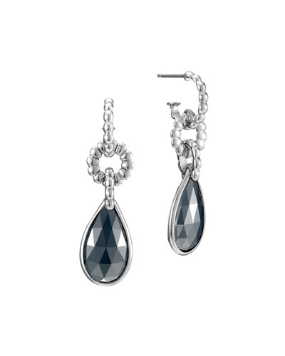 Bedeg Hematite Drop Earrings