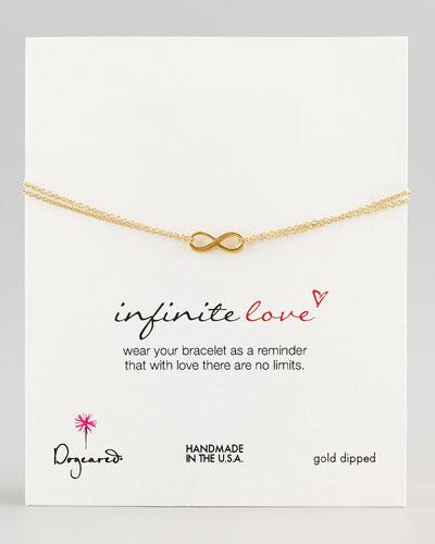 Gold Infinite Love Bracelet