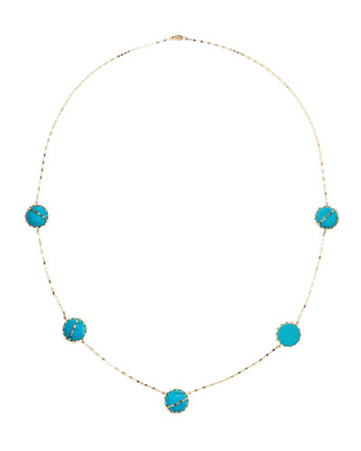 Turquoise Station Necklace