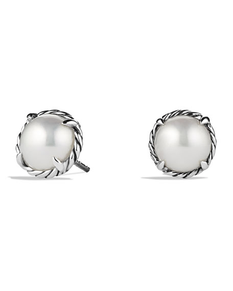 Claine Earrings With Pearls