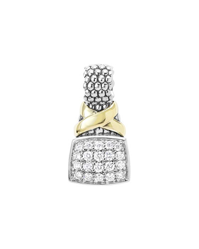 Silver & 18k Diamond Lux Enhancer