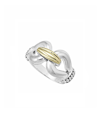 Diamond Derby Ring, Two-Tone