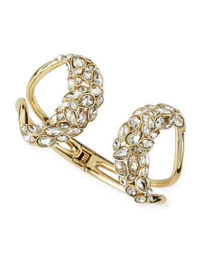 Miss Havisham Skinny Navette Hinge Bracelet