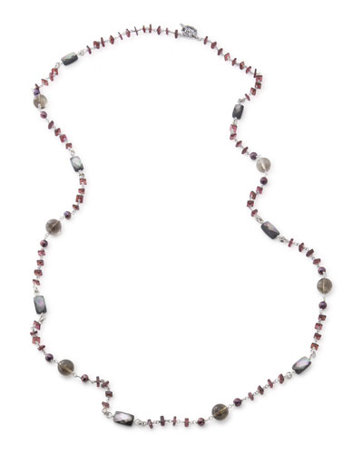 Verona Twisted Bead Necklace, 40