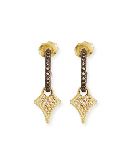 Armenta Old World Huggie Hoop Crivelli Drop Earrings mXqMLqqClr