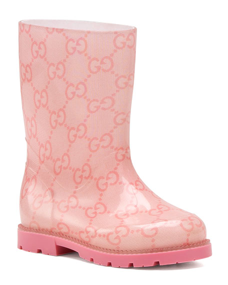 5f264d435537 Gucci GG Rain Boot