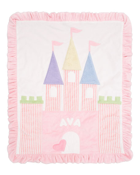 Fairy Tale Castle Blanket, Personalized