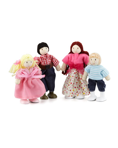 """My Family"" Doll Family of Four"