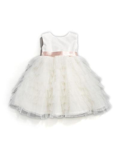 Tiered-Ruffle Dress