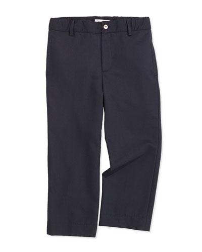 Classic Wool-Blend Pants, Kids' Navy, 2Y-10Y