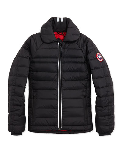 Youth Charlotte Quilted Jacket, Black, XS-XL