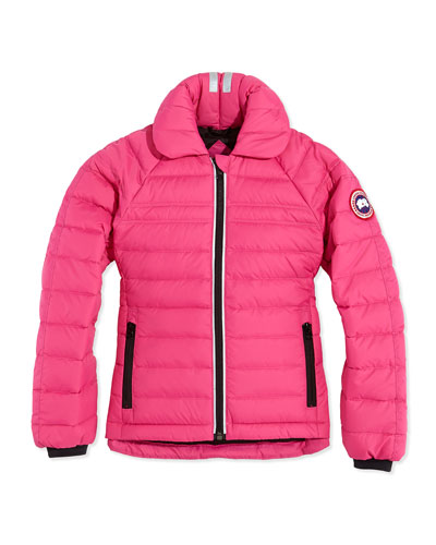 Youth Charlotte Quilted Jacket, Summit Pink, XS-XL