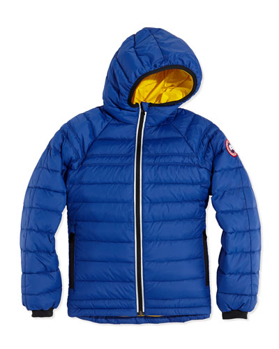 Youth Sherwood Hooded Jacket, Pacific Blue, XS-XL