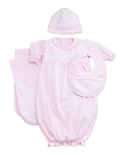 Sweet Moments Sleep Gown, Pink, NB-Small