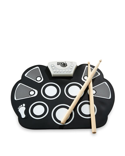 Rock and Roll It Drum Kit, Black