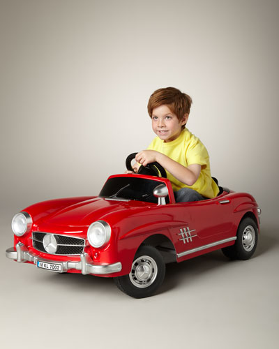 Ride on cars mercedes benz 300sl electric car for Mercedes benz ride on toy car